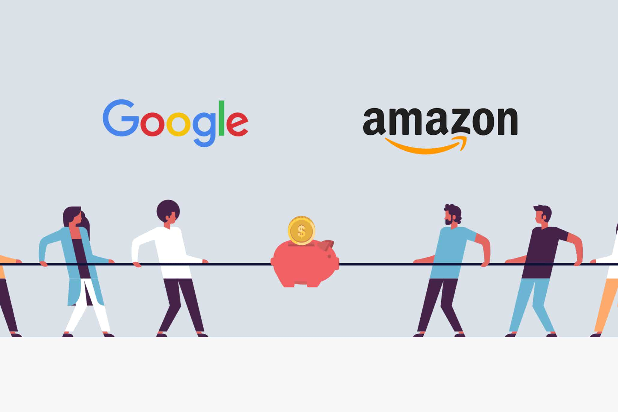 Google vs. Amazon: The battle for Ad Spend